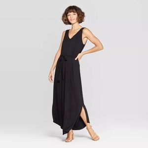 Plus Size Sleeveless V-Neck Maxi Dress A New Day